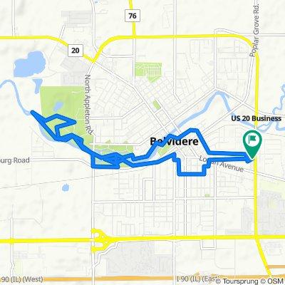 Easy ride in Belvidere