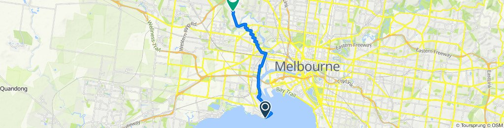 Route to 31 Chaumont Drive, Avondale Heights