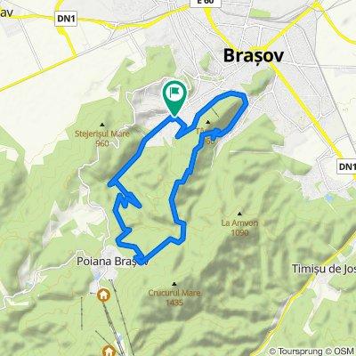 Traseul Semimaraton Brașov Intersport