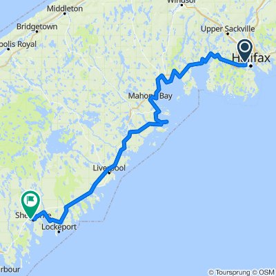 Day 1 - Cycle NS East