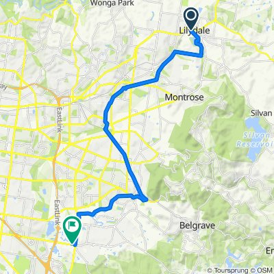 Lilydale to Rowville