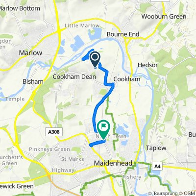 Moderate route in Maidenhead