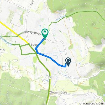 Schwalbenweg 12, Winterthur nach Kanzleistrasse 34, Winterthur