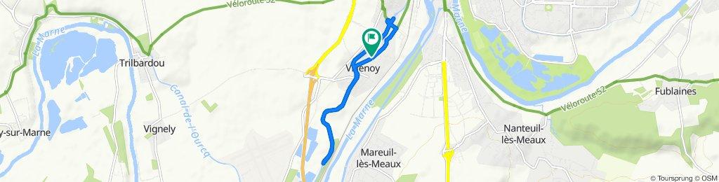 Easy ride in Villenoy