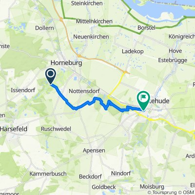 Restful route in Buxtehude