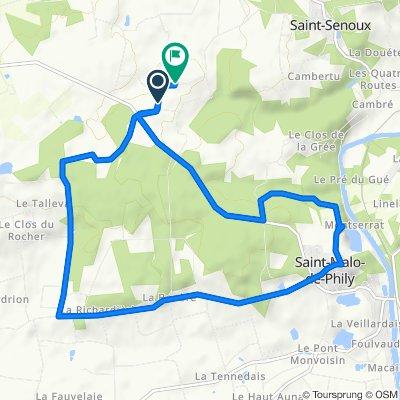 De Brehac, Saint-Senoux à Brehac, Saint-Senoux