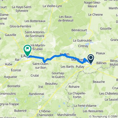 De 17 Place de la Madeleine, Verneuil-sur-Avre à 18bis Boulevard Vaugeois, L'Aigle