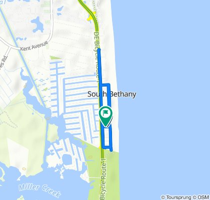 Easy ride in South Bethany