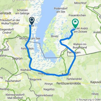 Neusiedler Radweg Etappe1