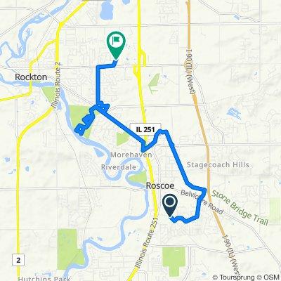 Moderate route in Rockton
