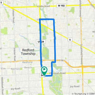 Elmira St, Redford to 10053 Appleton, Redford