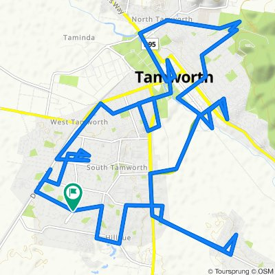 Tamworth extended circuit