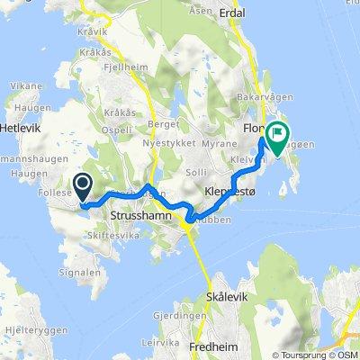 Slettebrekkdalen 2, Follese to Sjødalsvegen 30, Florvåg