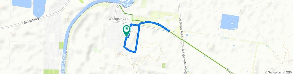 Slow ride in Wahgunyah