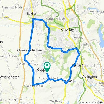 Chapel Lane 219, Coppull to Chapel Lane 219, Coppull
