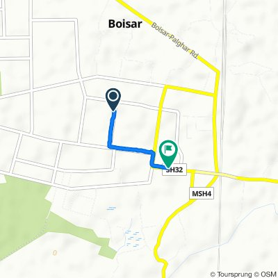 J-76 J-76, Boisar to MIDC Road, Boisar