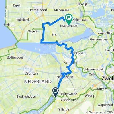 ZZ 6 - kraggenburg no polder elburg - LF - editie 2020 - 58 km