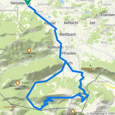MTB - Breitenberg (BGA36) - Nesselwang