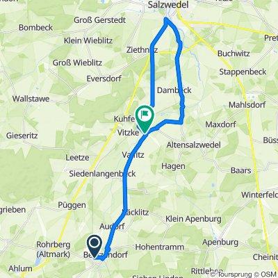 Beetzendorf - Salzwedel - Salzwedel