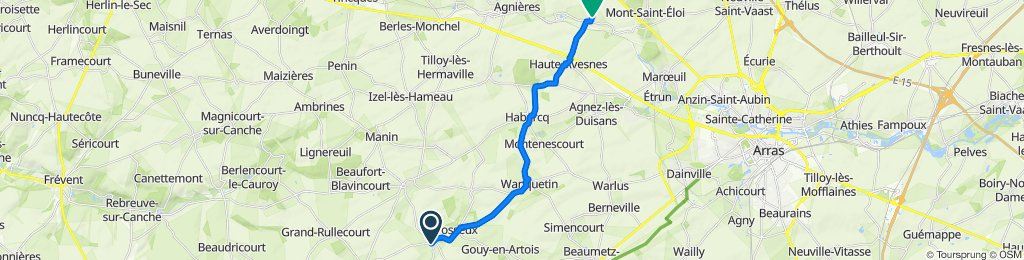 De 4 Rue de Sombrin, Barly à 9 Rue de la Liberté, Acq