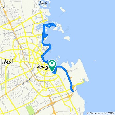 Morning Ride_Pearl-Corniche-Airport