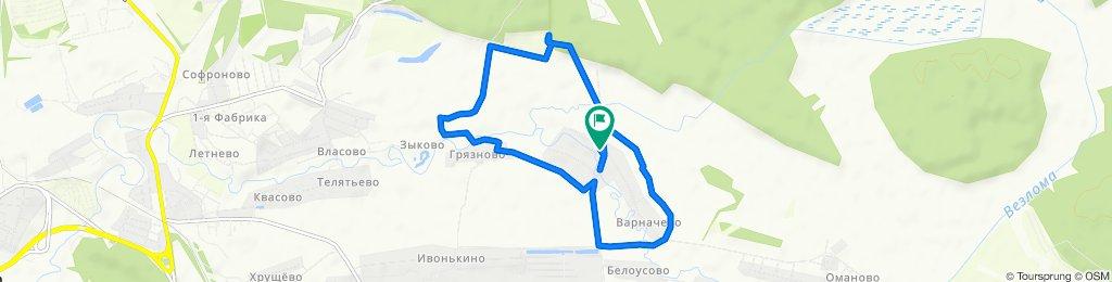 Easy ride in Краснослободский