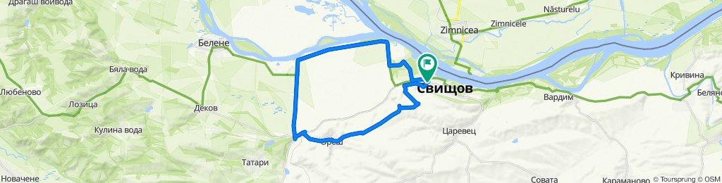 Sporty route in Svishtov
