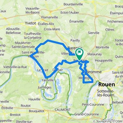Pour se faire les mollets au Nord-Ouest de Rouen