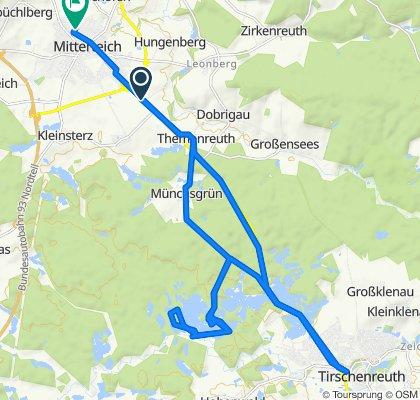 B15, Mitterteich nach Kettelerstraße 14, Mitterteich