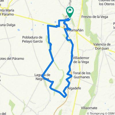 Paseo lento en Villamañán