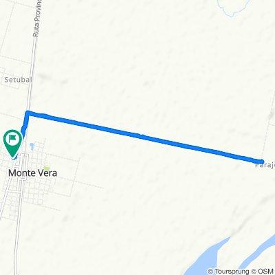 De Avenida San Martín 6148, Monte Vera a Avenida San Martín 6148, Monte Vera