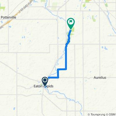 231 Dutton St, Eaton Rapids to Burchfield Park, Holt