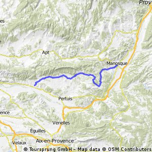 Frankreich 2010 Etappe 11 (Lourmarin - Manosque)