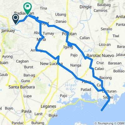 Janiuay - Badiangan Road to Janiuay - Badiangan Road 140