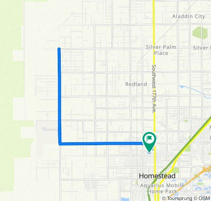 90 NW 19th St, Homestead to 191 NW 17th St, Homestead