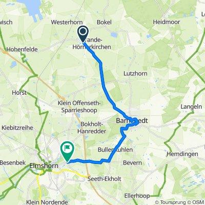 Hilfsroute Westerhorn - Rantzau