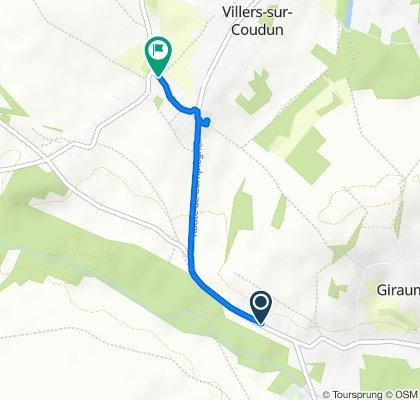 Easy ride in Coudun