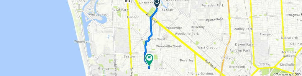 40 Cheltenham Parade, St Clair to 40–42 Buccleuch Avenue, Findon