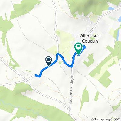 Itinéraire modéré en Villers-sur-Coudun