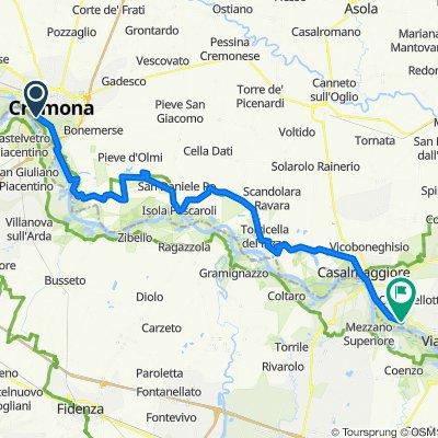 Pista Ciclabile Golena del Po: Cremona - Casalmaggiore -  Cicognara by PisteCiclabili.com