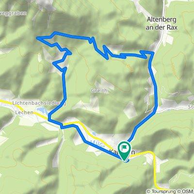 BergRadlRunde Urani im Naturpark Mürzer Oberland