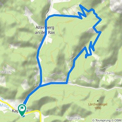 BergRadlRunde Moassa / Rax im Naturpark Mürzer Oberland