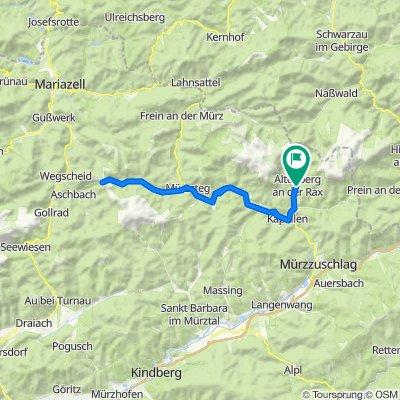 Mit dem E Bike auf das Niederalpl im Naturpark Mürzer Oberland