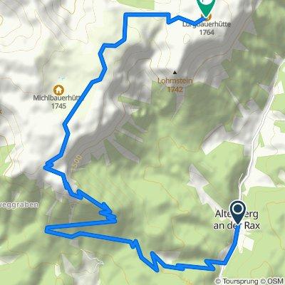 Mit dem E-Bike auf die Schneealm - Naturpark Mürzer Oberland