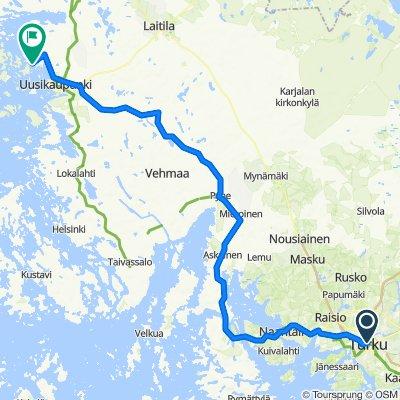 Turku to Ihala camping