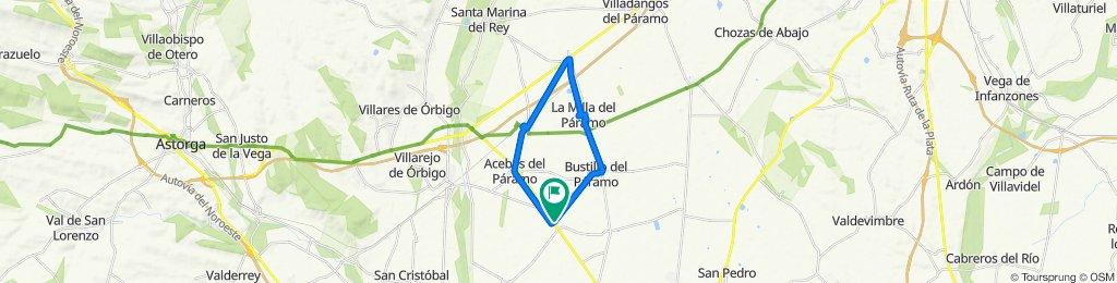 De Calle Canal 5, Matalobos del Páramo a Calle Canal 5, Matalobos del Páramo