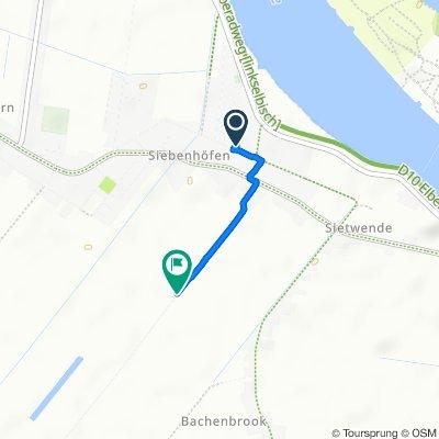 Steady ride in Hollern-Twielenfleth