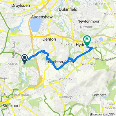 Restful route in Hyde