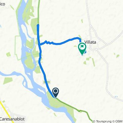 Moderate route in Villata