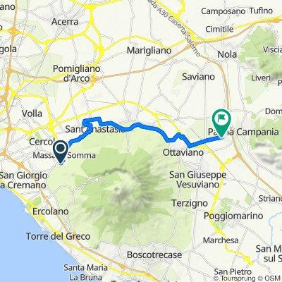 Cracking ride in San Gennaro Vesuviano